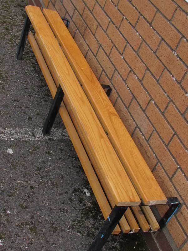School Changing Room PE Benches