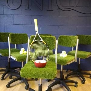 Wimbledon Inspired Swivel Chairs
