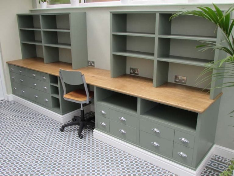 Conservatory Desk and Storage Unit