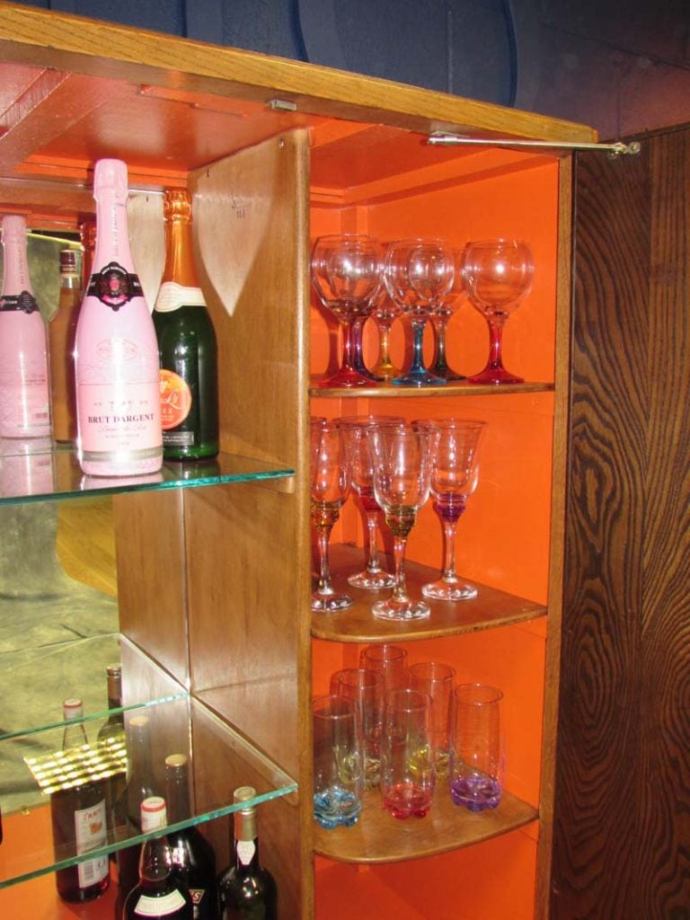 Cocktail Cabinet Interior